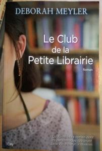 Couverture du roman Le Club de la Petite Librairie de Deborah Meyler